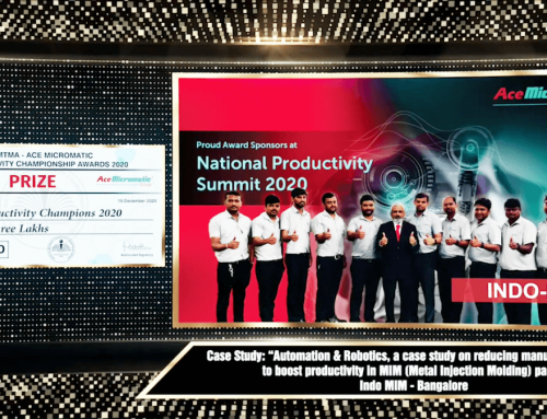 IMTMA PRODUCTIVITY CHAMPIONSHIP AWARDS 2020