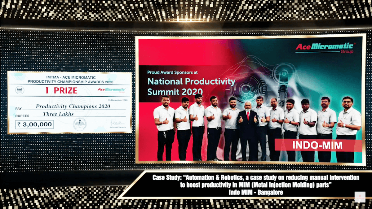 IMTMA award
