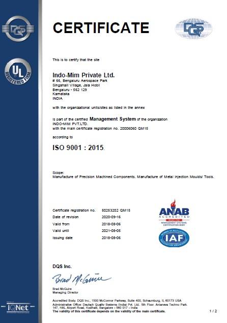ISO 9001-Devanahalli