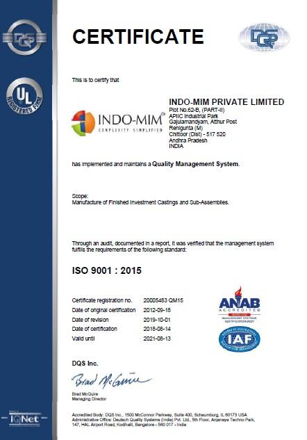 ISO 9001- IC