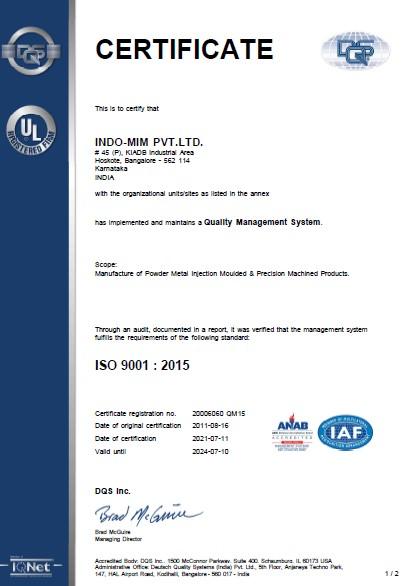 ISO 9001-HSK