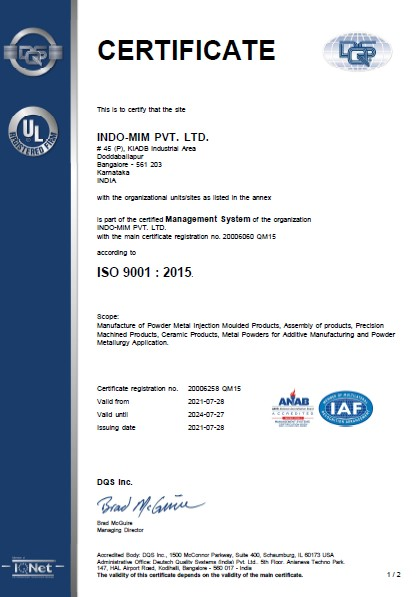 ISO9001 -DBP